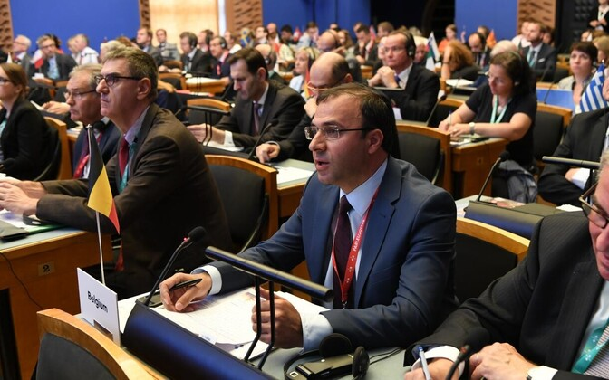 The COSAC meeting in Tallinn assembled MPs from all over the EU in the Riigikogu.