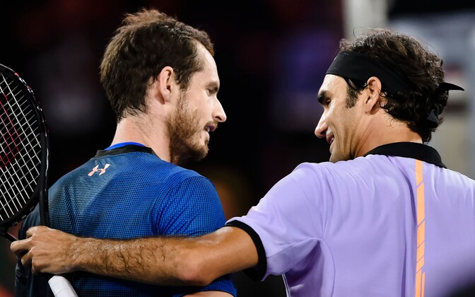 Andy Murray ja Roger Federer