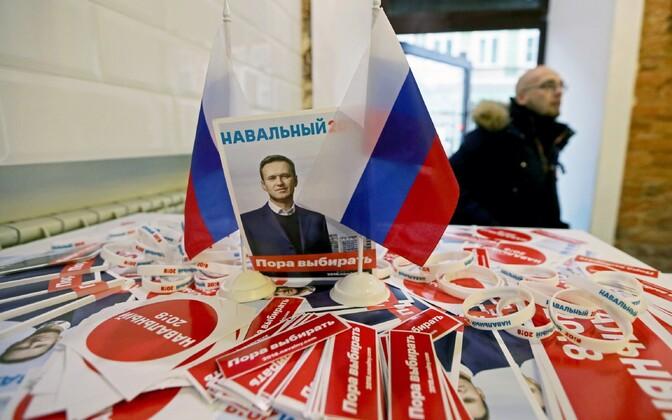 Aleksei Navalnõi kampaaniavoldikud.