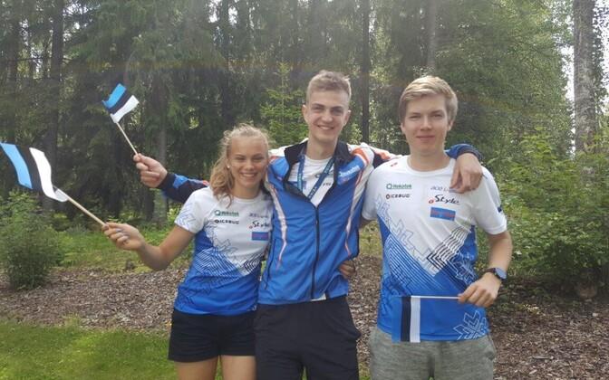 Eesti A-finaali jooksjad