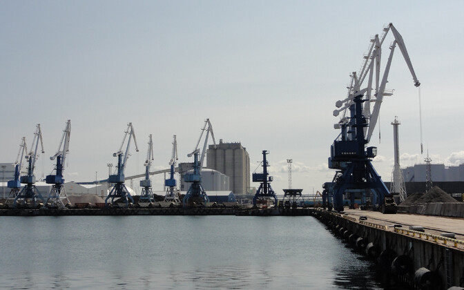 Таллиннский порт.
