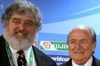 Чак Блейзер и бывший президент ФИФА Зепп Блаттер.