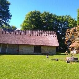 Художественный хутор Союза эстонских художников на острове Муху.