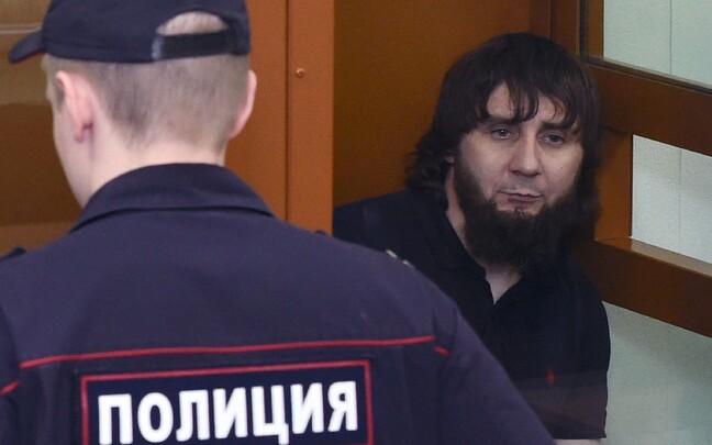 Заур Дадаев в зале суда 13 июля.