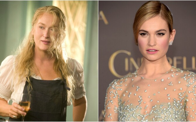 Meryl Streep ja Lily James