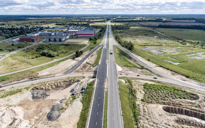 Suure Tallinna ringtee Jüri lõik.