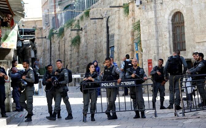 Стрельба в Иерусалиме.