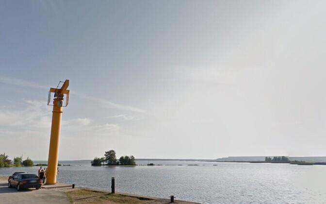 Два острова на Нарвском водохранилище получили официальное название.