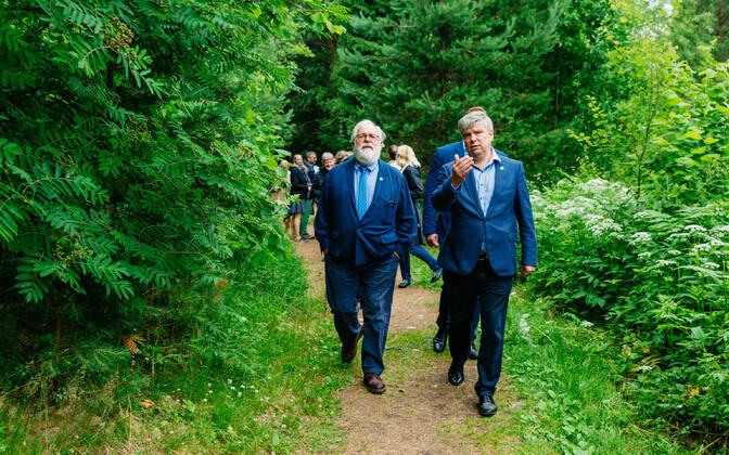 EL-i keskkonnaministrid käisid Eesti kohtumise jooksul ka Tallinnast väljas, Kõnnu-Suursoo matkarajal