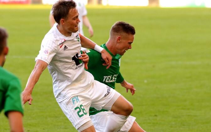 FC Flora - FC Levadia / Rimo Hunt ja Brent Lepistu