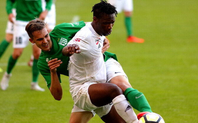 FC Flora - FC Levadia / Märten Kuusk ja Aime Marcelin Gando Biala