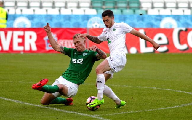 FC Flora - FC Levadia / Joonas Tamm ja Joao Neto Morelli