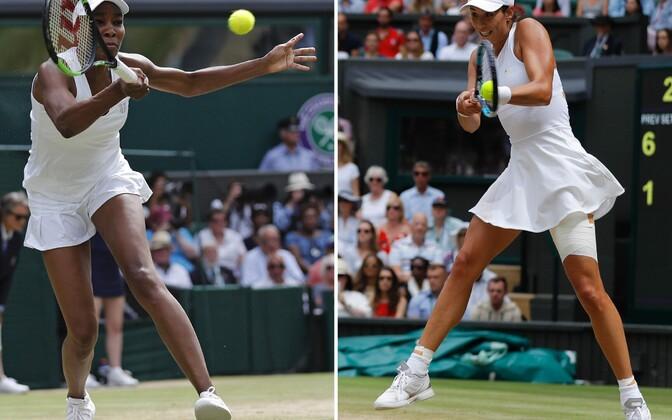 Venus Williams ja Garbine Muguruza