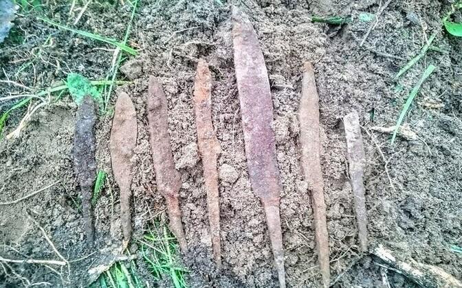 Ножи бронзового века.