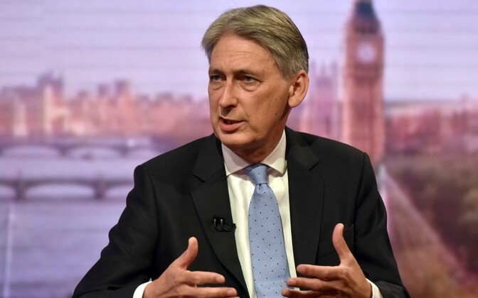 Briti rahandusminister Philip Hammond.