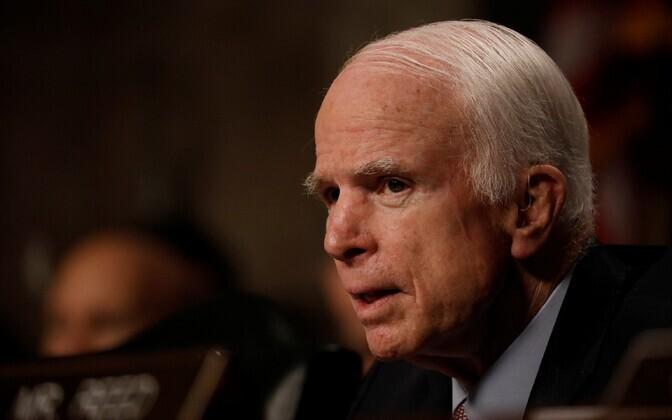 Senaator John McCain.