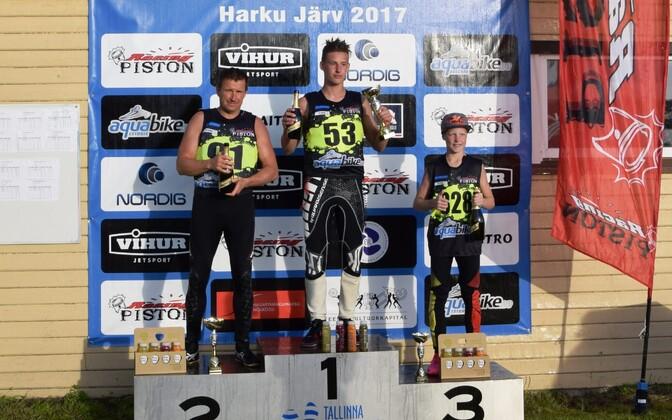 Ski GP 1 Harku: Andres Lauri, Marten Männi, Mattias Reinaas