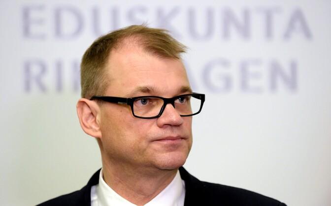 Soome peaminister Juha Sipilä.