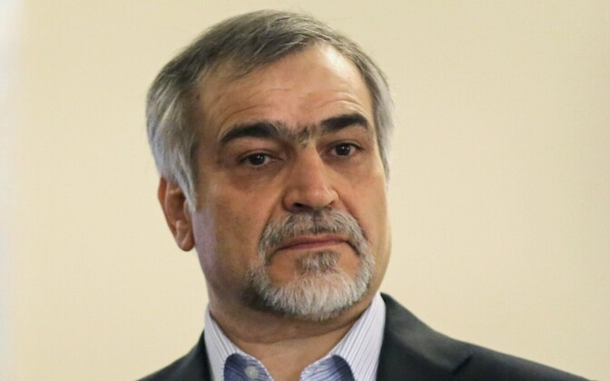 Iraani presidendi Hassan Rouhani noorem vend Hossein Fereydoun 2015. aastal.