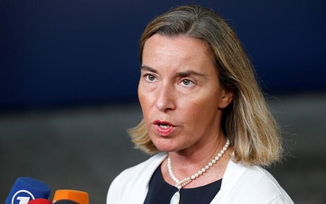 Euroopa Liidu välispoliitika juht Federica Mogherini.