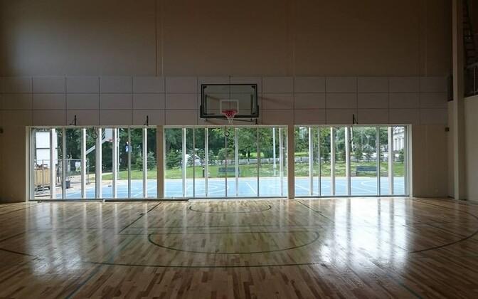 Современный спортхолл в Вайвараской волости готов к открытию.