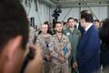 Премьер-министр Испании Мариано Рахой посетил авиабазу в Эмари.