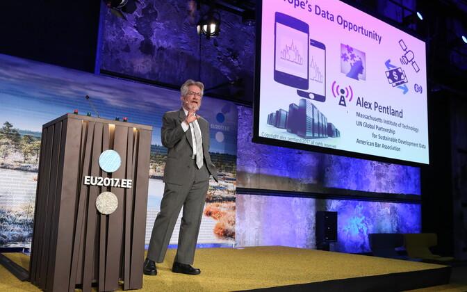 Professor Alex Pentland oli digitaalse ühtse turu konverentsi peaesineja