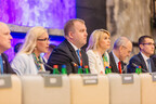 Ministers Kadri Simson and Urve Palo at the informal meeting of competitiveness and telecommunications ministers, July 18, 2017.