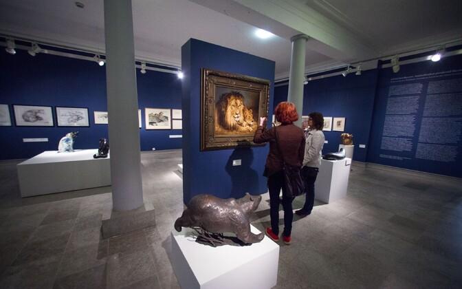 An exhibit at the Mikkel Museum in Kadriorg, Tallinn.