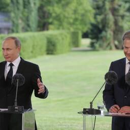Putin ja Niinistö Naantalis 2016. aastal.