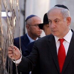 Benjamin Netanyahu Budapestis