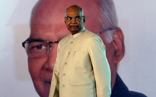 India uus president Ram Nath Kovind.