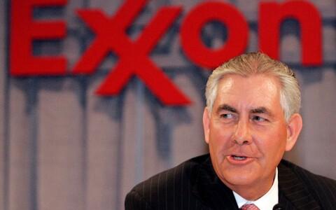Rex Tillerson Exxon Mobili tegevjuhina.