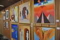 Открытие выставки Рафаэля Арутюньяна