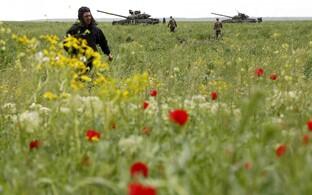 Ukraina tankid Mariupoli lähistel 2017. aasta mais.