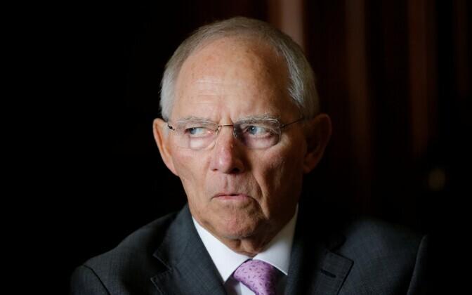 Saksa rahandusminister Wolfgang Schäuble.