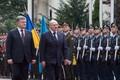Визит президента Белоруссии Александра Лукашенко в Киев.