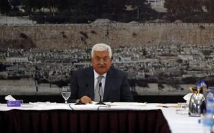 Palestiinlaste liider Mahmoud Abbas.