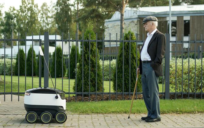 Estonian robotics startup Starship hired 29 new employees in 2017.