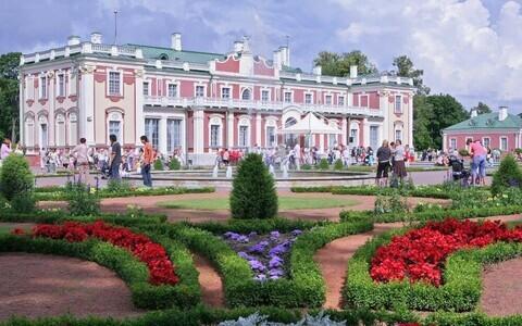 Парк Кадриорг в Таллинне в этом году отмечает 300-летие.