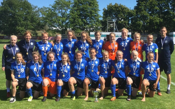 Eesti U-17 tüdrukute jalgpallikoondis