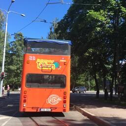 Turismibuss Tallinnas.