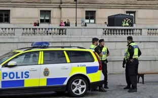 Rootsi politseinikud, arhiivifoto.