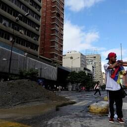 Venezuela viiuldajast meeleavaldaja Wuilly Arteaga 18. juuli Caracases.