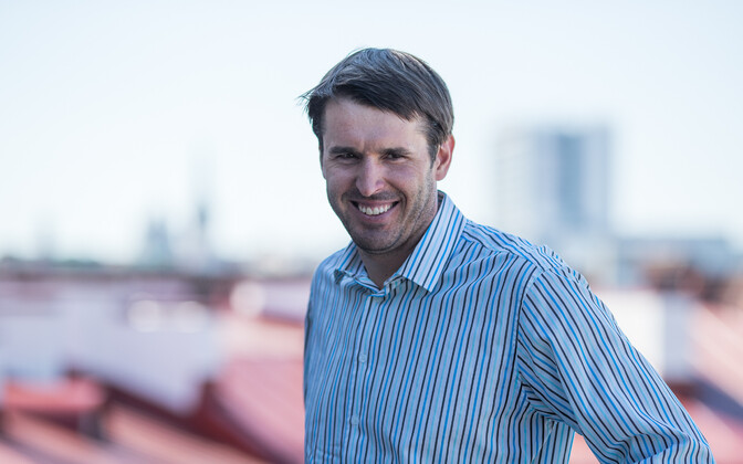 The Social Democrats' candidate for mayor of Tallinn, Rainer Vakra.