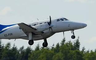 Transaviabaltika plane.
