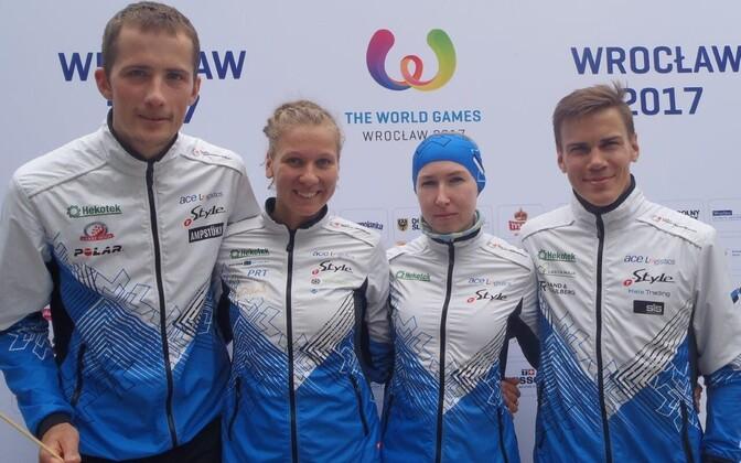Eesti orienteerumiskoondis maailmamängudel