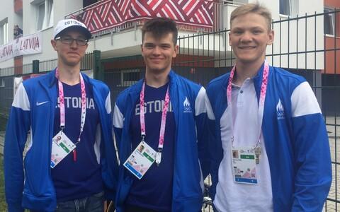 Erki Laanemäe, Gleb Karpenko ja Toomas Vool
