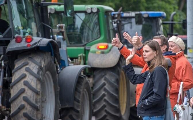Трудности в эстонском сельском хозяйстве возникли в том числе из-за принятия политических решений.