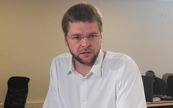 Tervise- ja tööminister Jevgeni Ossinovski.